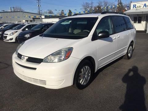 2005 Toyota Sienna for sale at RABI AUTO SALES LLC in Garden City ID