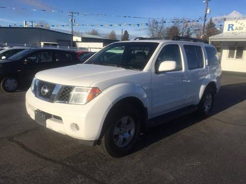 2005 Nissan Pathfinder for sale at RABI AUTO SALES LLC in Garden City ID