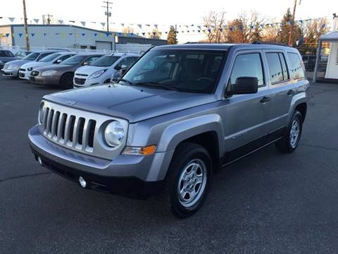 2016 Jeep Patriot for sale at RABI AUTO SALES LLC in Garden City ID