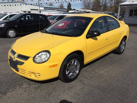 2003 Dodge Neon for sale at RABI AUTO SALES LLC in Garden City ID