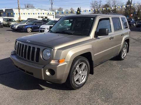 2008 Jeep Patriot for sale at RABI AUTO SALES LLC in Garden City ID