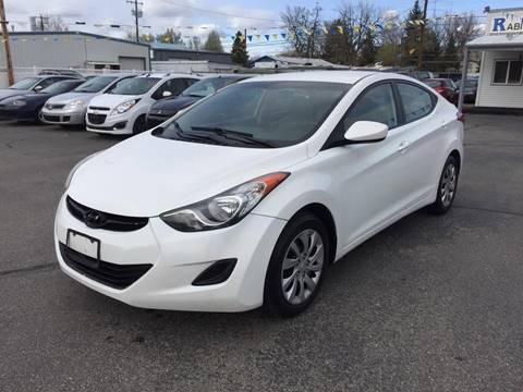2011 Hyundai Elantra for sale at RABI AUTO SALES LLC in Garden City ID