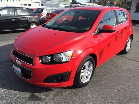 2013 Chevrolet Sonic for sale at RABI AUTO SALES LLC in Garden City ID
