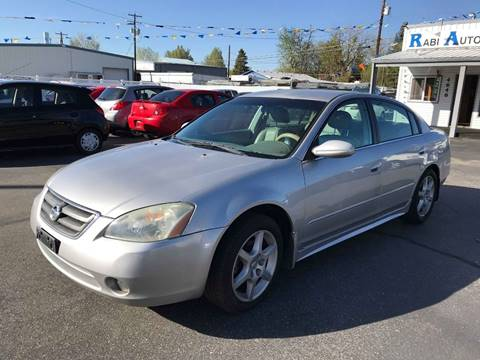2003 Nissan Altima for sale at RABI AUTO SALES LLC in Garden City ID