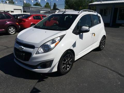 2014 Chevrolet Spark for sale at RABI AUTO SALES LLC in Garden City ID