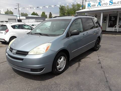2004 Toyota Sienna for sale at RABI AUTO SALES LLC in Garden City ID