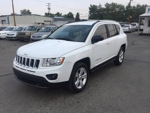 2012 Jeep Compass for sale at RABI AUTO SALES LLC in Garden City ID