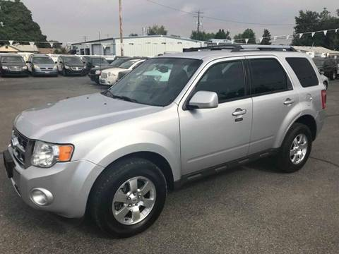 2011 Ford Escape for sale at RABI AUTO SALES LLC in Garden City ID