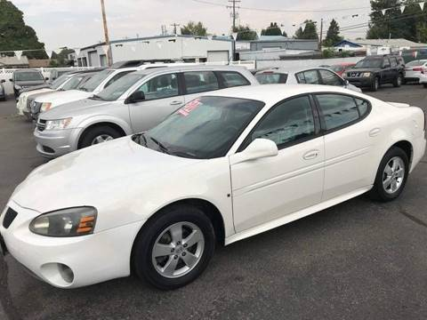 2008 Pontiac Grand Prix for sale at RABI AUTO SALES LLC in Garden City ID