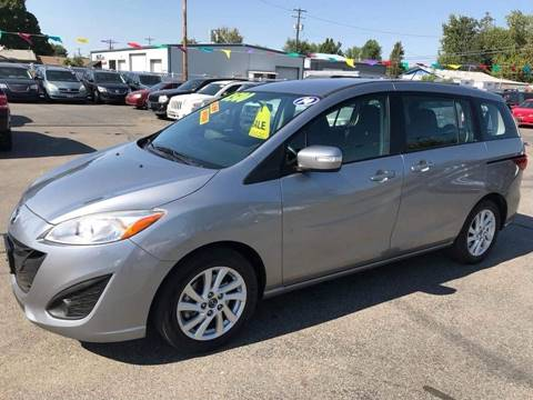 2014 Mazda MAZDA5 for sale at RABI AUTO SALES LLC in Garden City ID