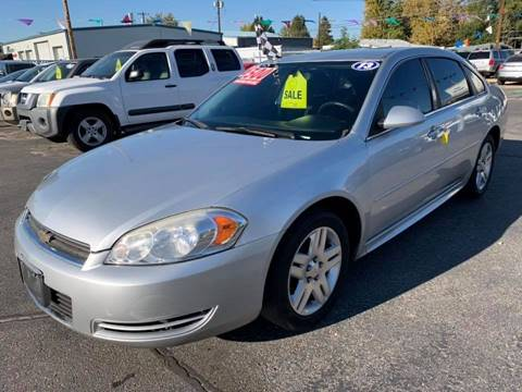 2011 Chevrolet Impala for sale at RABI AUTO SALES LLC in Garden City ID
