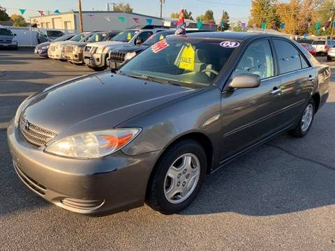 2003 Toyota Camry for sale at RABI AUTO SALES LLC in Garden City ID