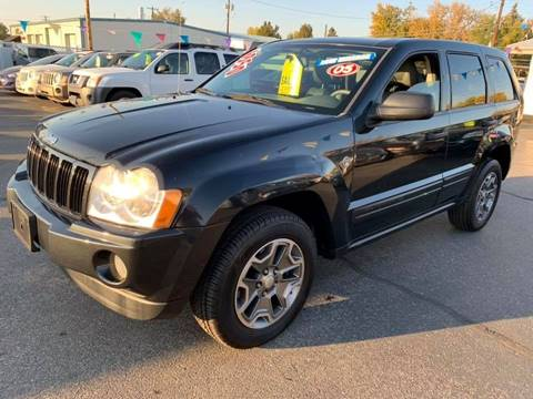 2005 Jeep Grand Cherokee for sale at RABI AUTO SALES LLC in Garden City ID