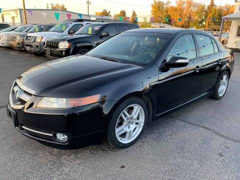2007 Acura TL for sale at RABI AUTO SALES LLC in Garden City ID