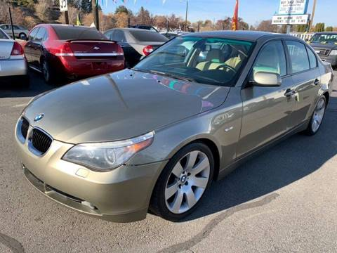 2006 BMW 5 Series for sale at RABI AUTO SALES LLC in Garden City ID