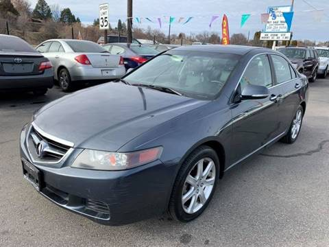 2004 Acura TSX for sale at RABI AUTO SALES LLC in Garden City ID