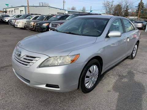 2009 Toyota Camry for sale at RABI AUTO SALES LLC in Garden City ID