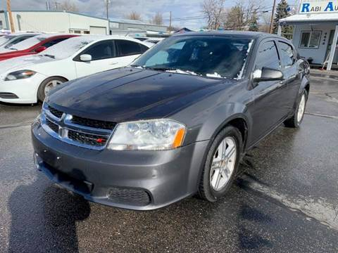 2014 Dodge Avenger for sale at RABI AUTO SALES LLC in Garden City ID
