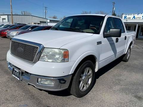 2004 Ford F-150 for sale at RABI AUTO SALES LLC in Garden City ID