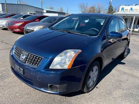 2007 Nissan Sentra for sale at RABI AUTO SALES LLC in Garden City ID