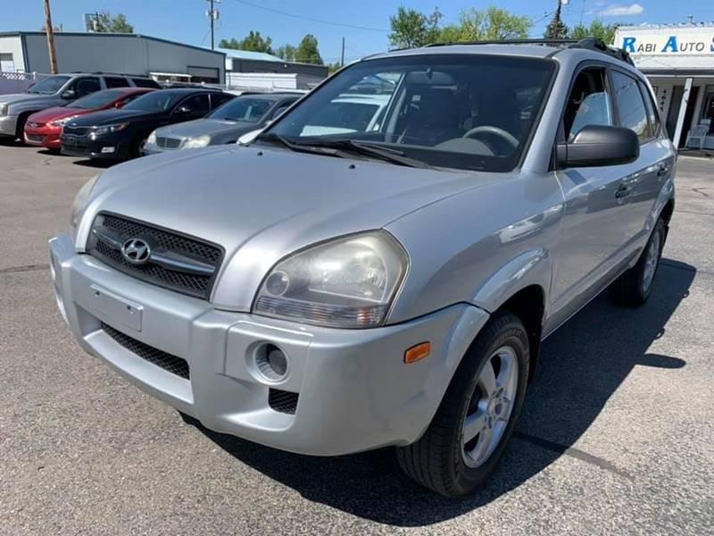 2008 Hyundai Tucson for sale at RABI AUTO SALES LLC in Garden City ID