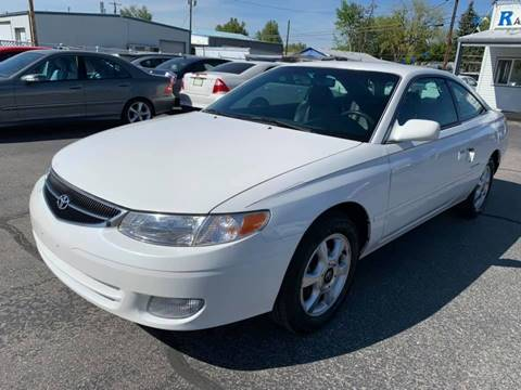 1999 Toyota Camry Solara for sale at RABI AUTO SALES LLC in Garden City ID