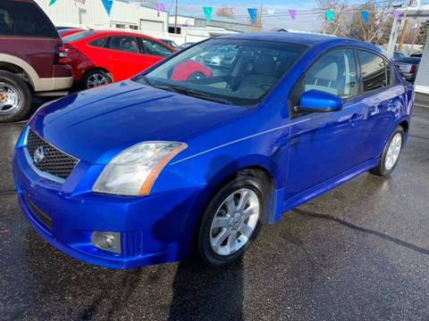 2010 Nissan Sentra for sale at RABI AUTO SALES LLC in Garden City ID