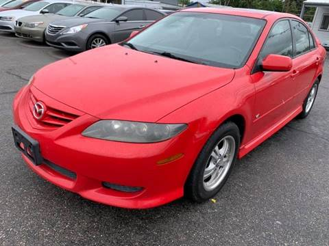 2004 Mazda MAZDA6 for sale at RABI AUTO SALES LLC in Garden City ID