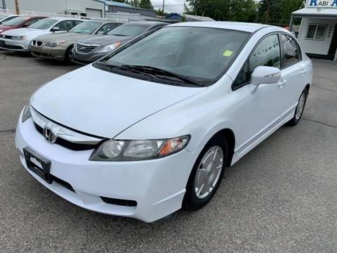 2009 Honda Civic for sale at RABI AUTO SALES LLC in Garden City ID
