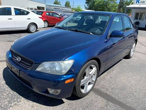 2004 Lexus IS 300 for sale at RABI AUTO SALES LLC in Garden City ID