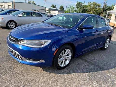 2015 Chrysler 200 for sale at RABI AUTO SALES LLC in Garden City ID