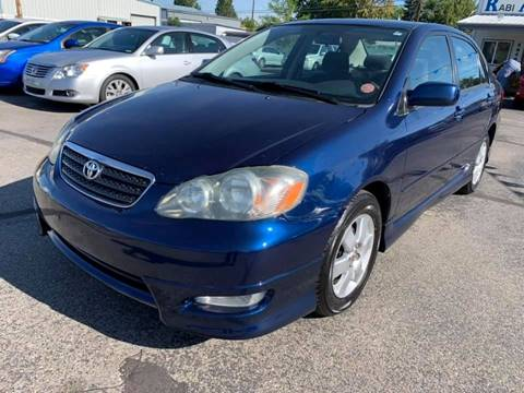2006 Toyota Corolla for sale at RABI AUTO SALES LLC in Garden City ID