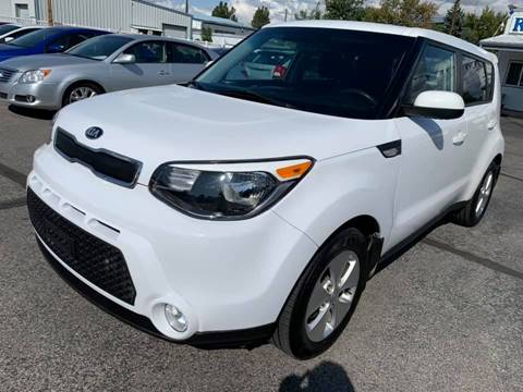 2014 Kia Soul for sale at RABI AUTO SALES LLC in Garden City ID