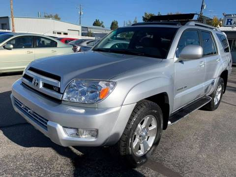 2004 Toyota 4Runner for sale at RABI AUTO SALES LLC in Garden City ID