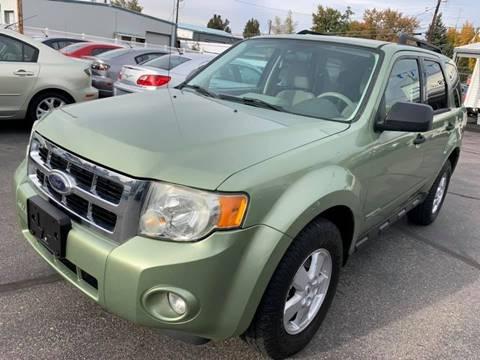 2008 Ford Escape for sale at RABI AUTO SALES LLC in Garden City ID