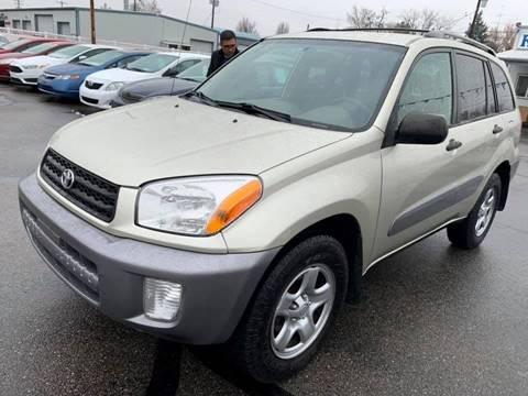 2003 Toyota RAV4 for sale at RABI AUTO SALES LLC in Garden City ID