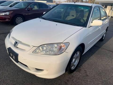 2005 Honda Civic for sale at RABI AUTO SALES LLC in Garden City ID