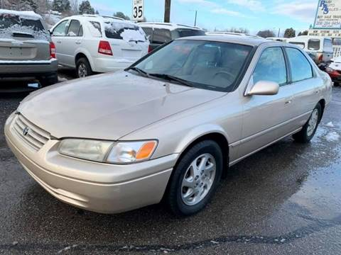 1999 Toyota Camry for sale at RABI AUTO SALES LLC in Garden City ID