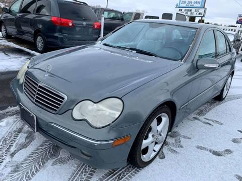 2004 Mercedes-Benz C-Class for sale at RABI AUTO SALES LLC in Garden City ID