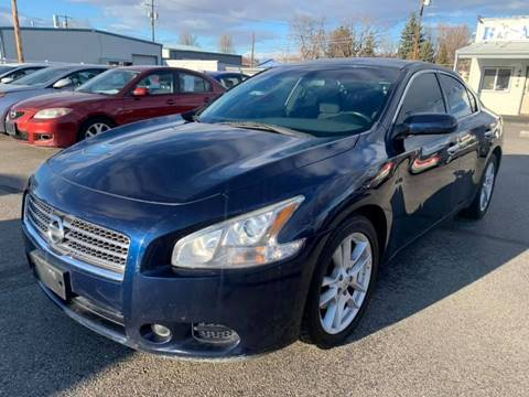 2009 Nissan Maxima for sale at RABI AUTO SALES LLC in Garden City ID