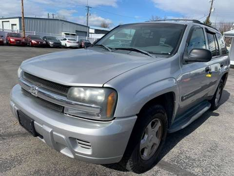 2004 Chevrolet TrailBlazer for sale at RABI AUTO SALES LLC in Garden City ID