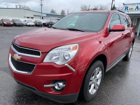 2013 Chevrolet Equinox for sale at RABI AUTO SALES LLC in Garden City ID