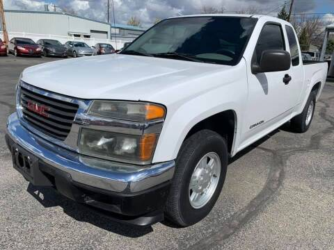 2005 GMC Canyon for sale at RABI AUTO SALES LLC in Garden City ID