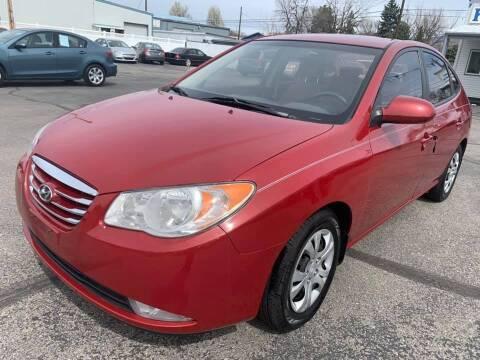2010 Hyundai Elantra for sale at RABI AUTO SALES LLC in Garden City ID
