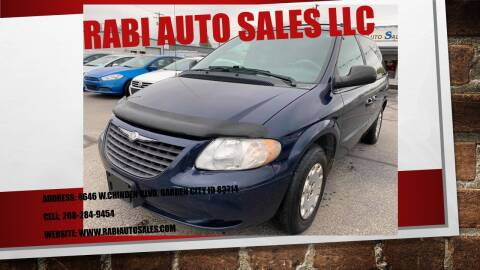 2004 Chrysler Town and Country for sale at RABI AUTO SALES LLC in Garden City ID