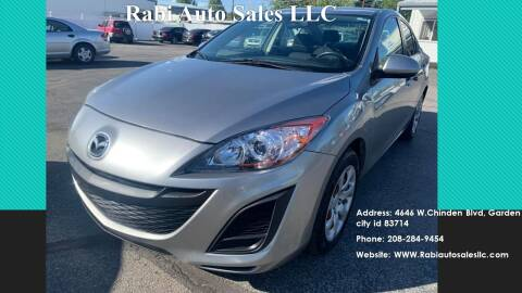 2011 Mazda MAZDA3 for sale at RABI AUTO SALES LLC in Garden City ID