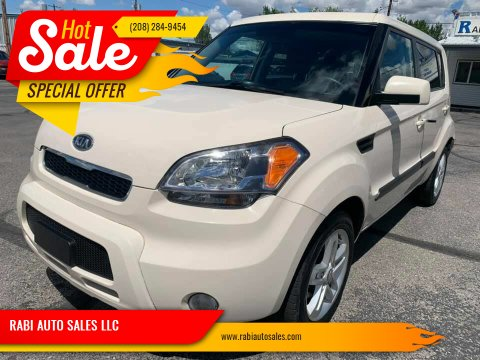 2011 Kia Soul for sale at RABI AUTO SALES LLC in Garden City ID