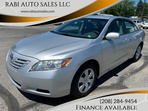 2007 Toyota Camry for sale at RABI AUTO SALES LLC in Garden City ID