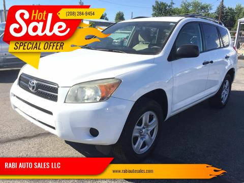 2011 Toyota RAV4 for sale at RABI AUTO SALES LLC in Garden City ID
