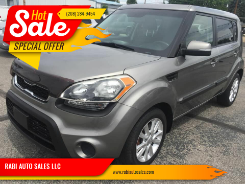 2012 Kia Soul for sale at RABI AUTO SALES LLC in Garden City ID